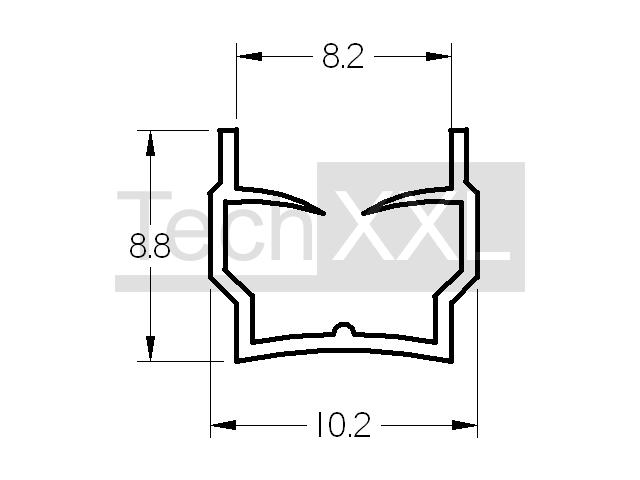 80x 10mm - 2000mm S235JR EN 10058 50-80mm breiten 500-2000mm L/änge Flachstahl-Flachprofil